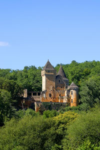 Chateau de Laussel, Dordogne region, Aquitaine