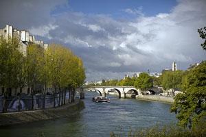 Seine River in Autumn